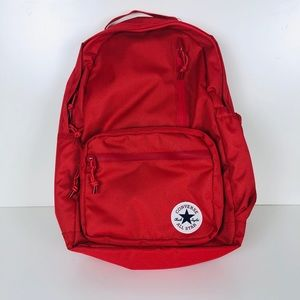 Converse Ctas Unisex All Purpose Backpack/Bag Red